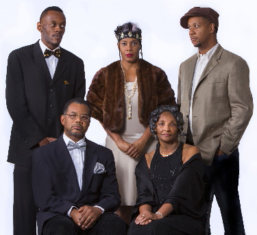 Standing L- R: Samuel Umoh, Makeba Pace, Ethan Henry. Seated L-R: Andre Gainey, Carolyn Johnson.