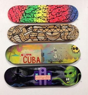 Cope2, Jorge Miguel Rodriguez, Buddha Funk, Yamel Molerio