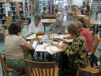 Miami Public Library Book Club (courtesy Miami Public Library)