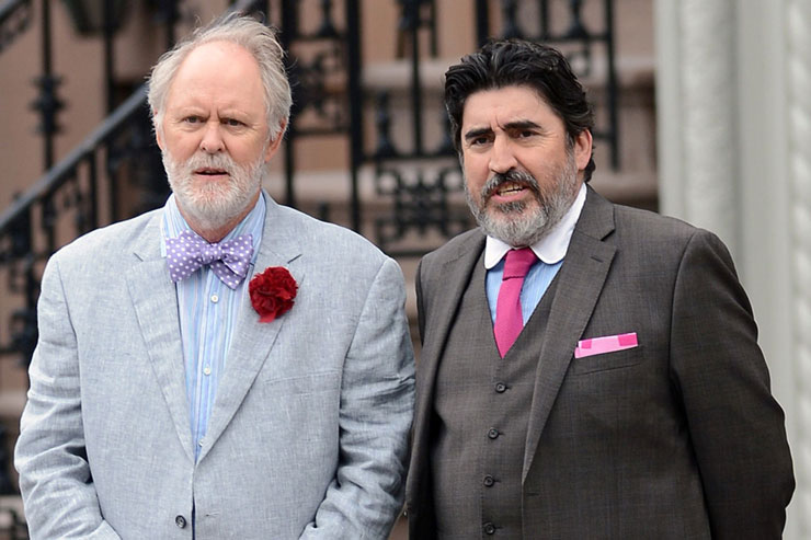 FROM LEFT: John Lithgow, Alfred Molina
