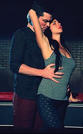 Chris Crawford and Blythe Gruda