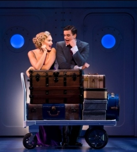 Emma Stratton and Brian Krinsky in ANYTHING GOES.