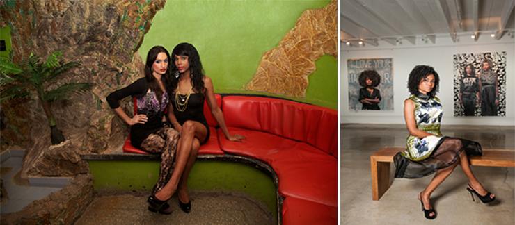 LEFT: TransCuba exhibition piece: