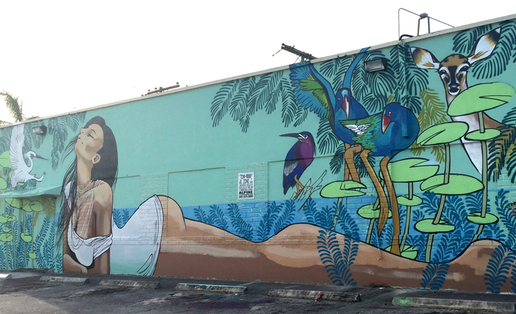 Kazilla's Mural<br> Courtesy of @miamiartcollective