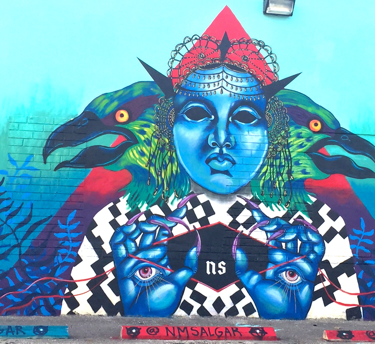 N. M. Salgar&#39;s Mural