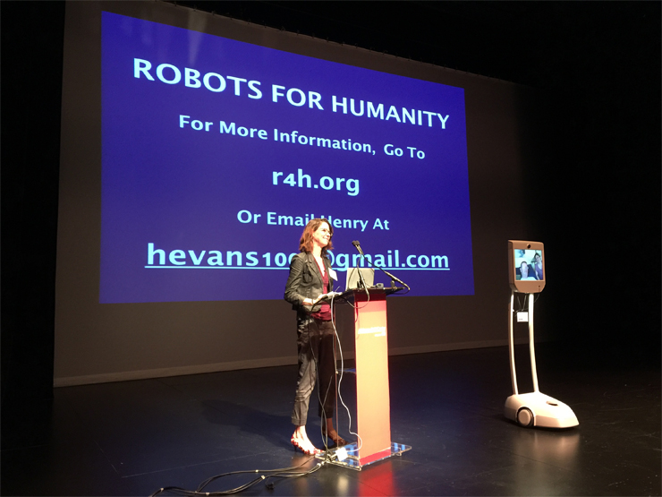 Robots for Humanity.