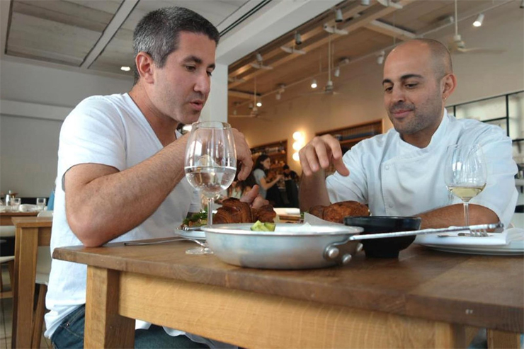 In Search of Israeli Cuisine: (from Left): Chef Michael Solomonov, Chef Meir Adoni.