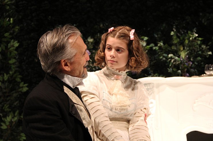 Peter Galman and Isabel Van Natta.