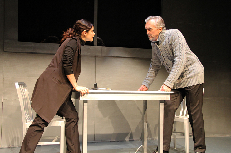 Samantha Dagnino and Peter Galman.