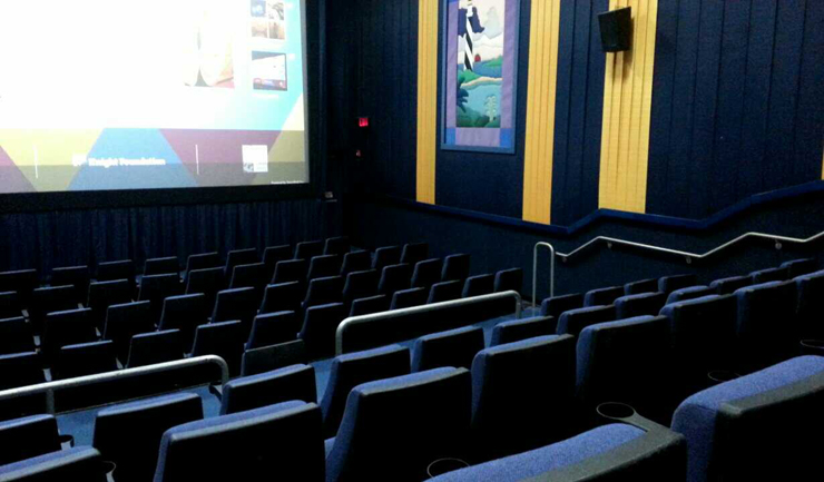Photo: Turnout was low at the March 4 screening of