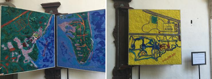 Lucinda Linderman's Maps of Vizcaya.