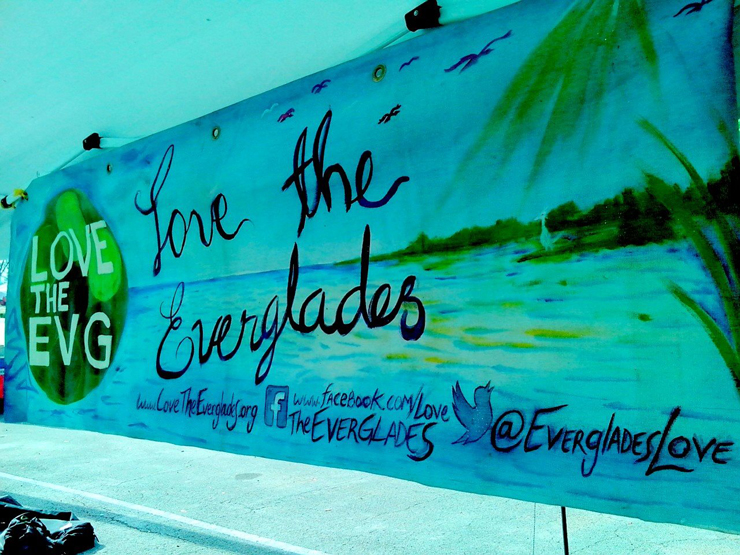 Love the Everglades Banner<br/>