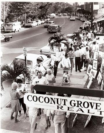 Coconut Grove Art Festival circa '60's