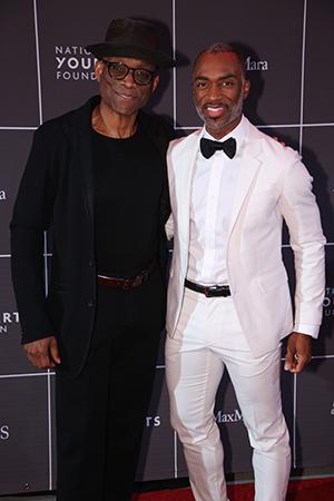 Bill T Jones & Desmond Richardson.<br>Photo by Jason Koerner.