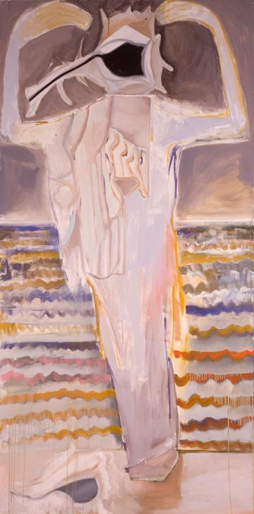 Francesco Clemente <br>  DORMIVEGLIA II, 1998 <br>  Oil on canvas <br>  Courtesy of the artist, Kim Heirston Art Advisory, New York<br>  (c) Francesco Clemente