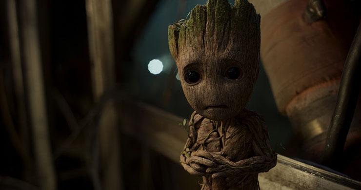 Baby Groot (voice of Vin Diesel)