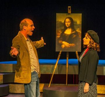 Tom Wahl, Irene Adjan. Photo by George Schiavone.