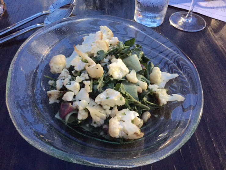 Metal salad.