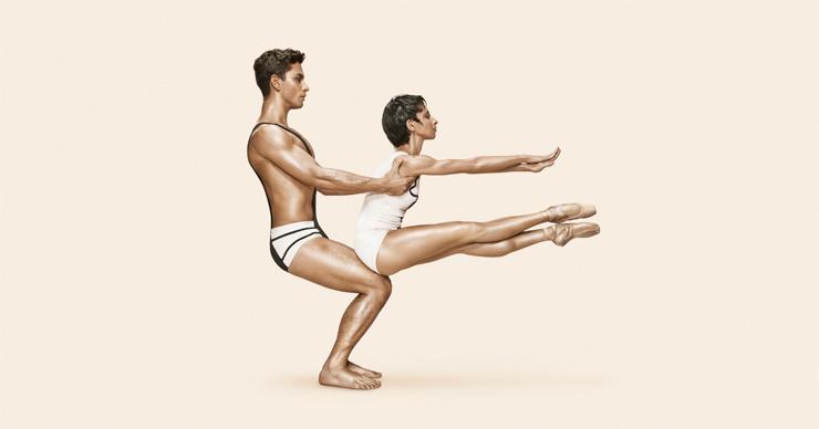 The Cage  Nathalia Arja and Kleber Rebello, Choreography by Jerome Robbins, Photo by Alberto Oviedo.