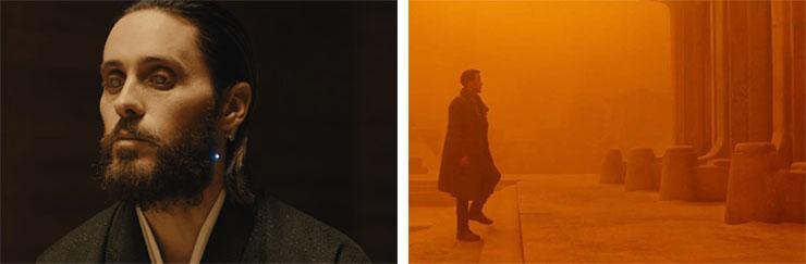 Left: Jared Leto   Right: Ryan Gosling