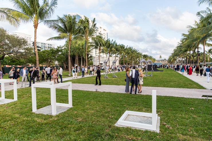 Art Basel Collins Park opening 2016.