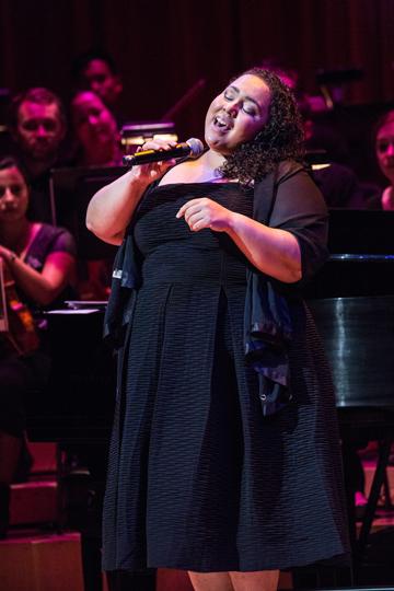 Brianna Thomas performances. <br>Photo credited to Daniel Azoulay.