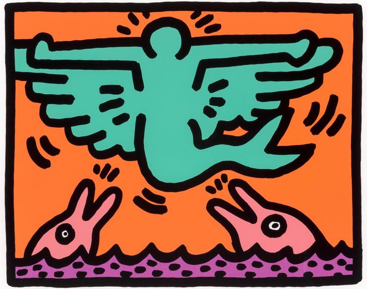 Keith Haring.<br>Photo provided by the Sagamore.