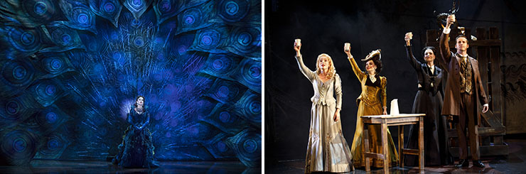 """LEFT: Meghan Picerno (""""Christine Daaé"""") stars in Love Never Dies. 
