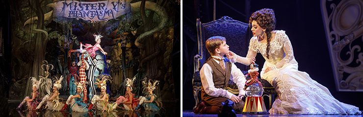 """LEFT: """"Only For You"""" - Mary Michael Patterson (""""Meg Giry"""") and the Ensemble of Love Never Dies. 
