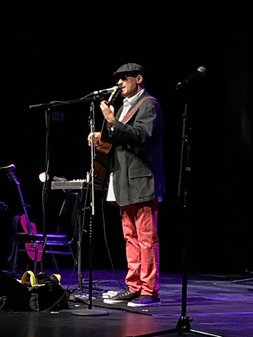 Rolando Grooscors performs at the Astor at last year's jazz fest.