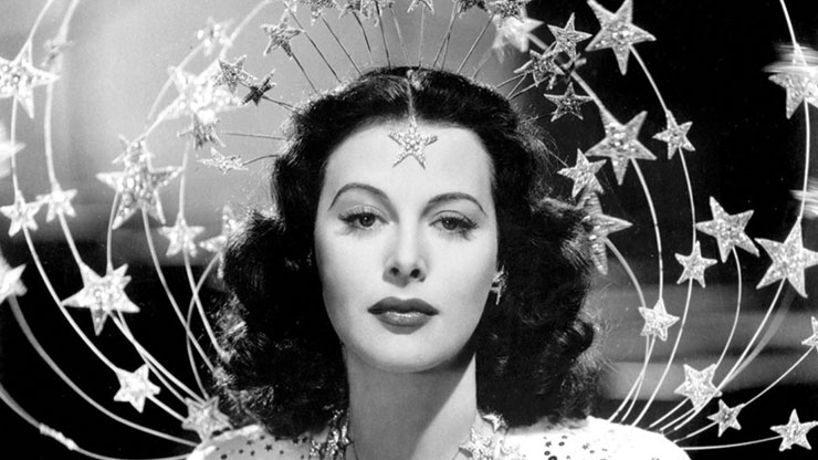 BOMBSHELL! THE HEDY LAMARR STORY, courtesy of Zeitgeist Films.
