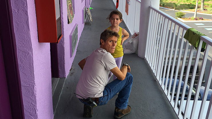 Willem Dafoe, Brooklynn Prince in