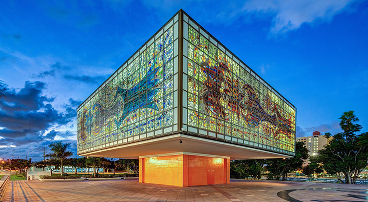 The YoungArts Jewel Box (photo by Greg Clark)