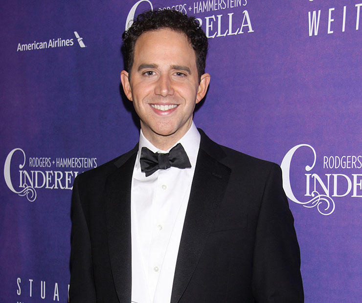 National YoungArts alumnus Santino Fontana co-starred on Broadway in Rodgers and Hammerstein's