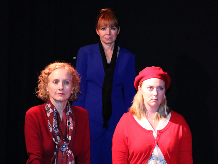 Kim Ostrenko, Jacqueline Laggy, and Jenna Wyatt