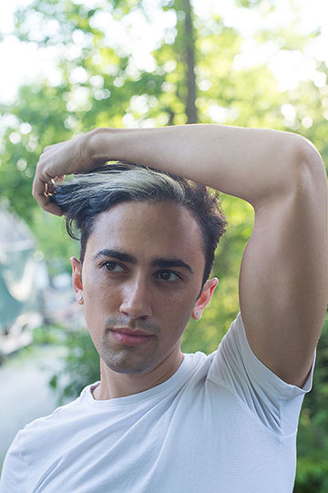 Caleb Teicher, director of CT&C (his dance company), dancer, choreographer, was a YoungArts finalist. He is director of YoungArts Miami Mix-Discipline Performance.