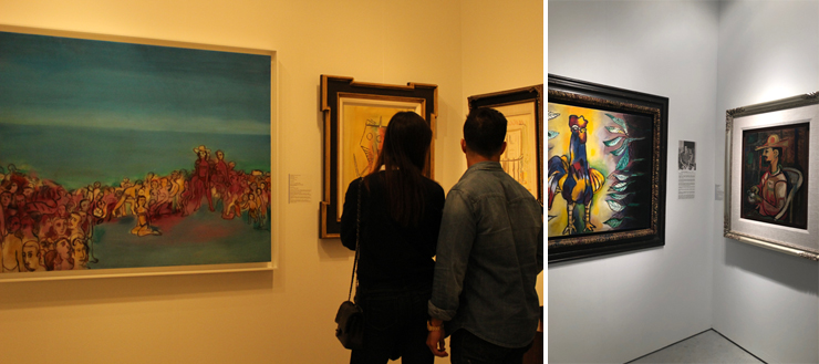 Cernuda Arte. Photo by Cam Culture Media. On right, photo by Monica Torres.