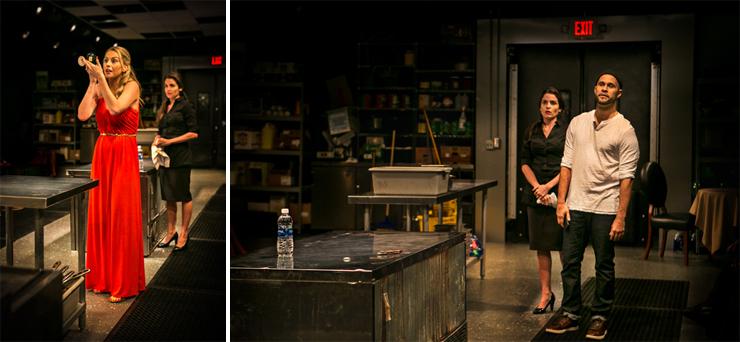 LEFT: Betsy Graver, Daniela Bascope.<BR> RIGHT: Daniela Bascope, Rudi Goblen.<BR> Photos: Stian&#39;s Production Photos.