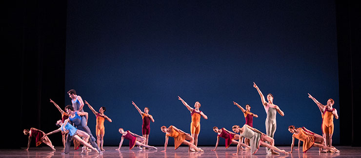 Miami City ballet dancers in