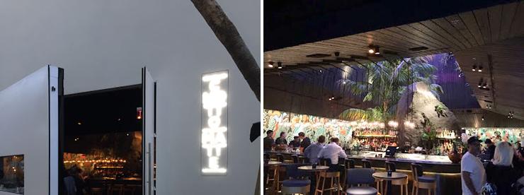 Photo: LEFT: Restaurant exterior RIGHT Restaurant interior. Photo credit: Paul Petrella.