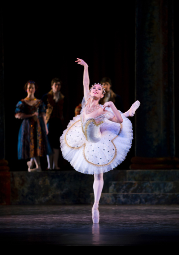 Yolanda Correa dances Sleeping Beauty