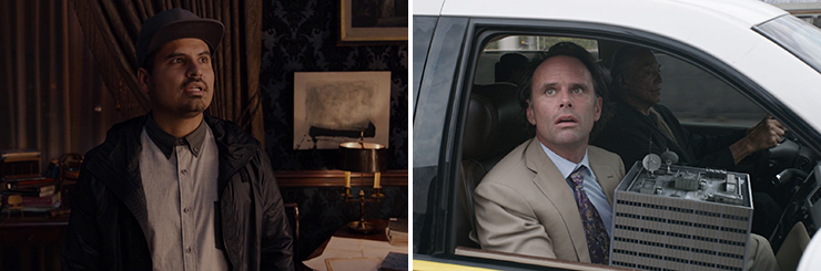 LEFT: Michael Peña.<br>