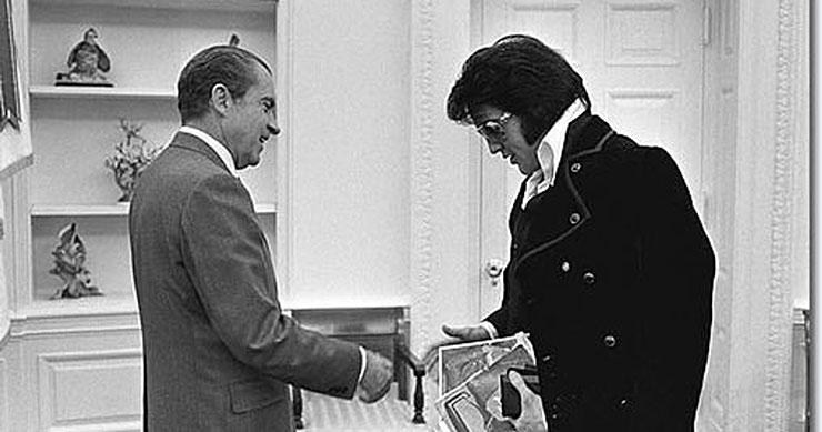 Richard Nixon, Elvis Presley