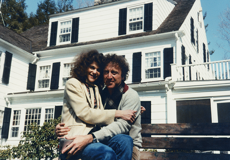 Gilda Radner and husband, Gene Wilder.