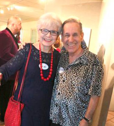 Iris Acker and Tony Finstrom.