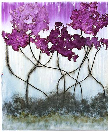 Magenta Mangrove by Mira Lehr