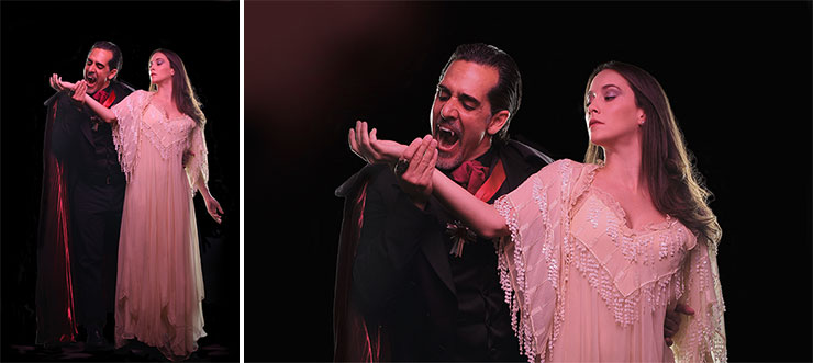 Carlos Orizondo, Isabella Lopez, Photo by Chris Headshots.