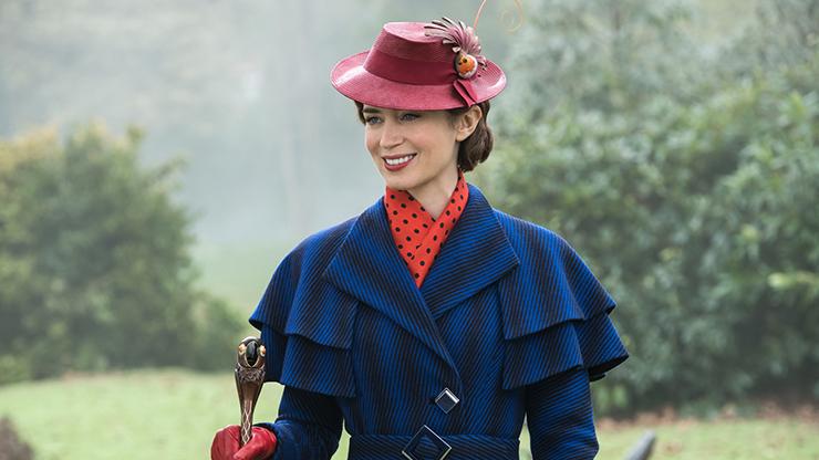 Maz Competent Cast Brightens Poppins Returns