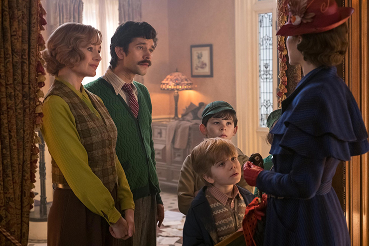 Emily Mortimer, Ben Whishaw, Emily Blunt, Nathanael Saleh, Joel Dawson, Emily Blunt.