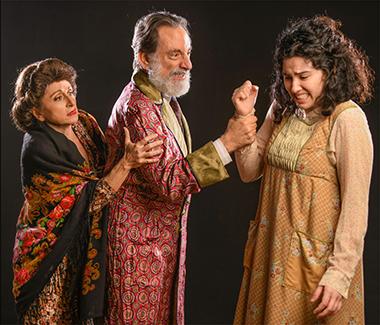 Irene Adjan, David Kwiat and Hannah Benitez. Photo by George Schiavone.